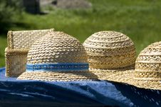 Free Straw Hats Royalty Free Stock Image - 19690606
