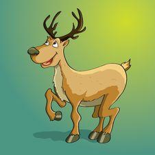 Free Happy Reindeer Stock Photo - 19691380