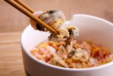 Free Seafood Rice. Royalty Free Stock Images - 19691389