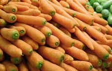 Free Carrots In Supermarket Royalty Free Stock Photography - 19692167