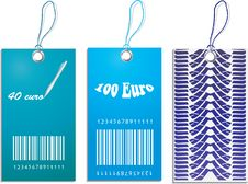 Free Set Of Price Tags Stock Image - 19692201