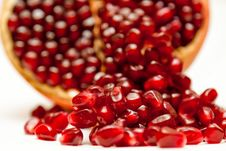 Free Red Grains Of Pomegranate Stock Photo - 19692770