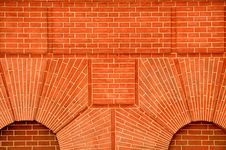 Free Red Brick Wall Stock Photo - 19692950