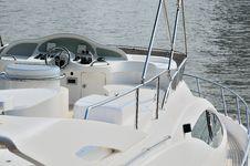 Free Navigation Bridge Of Yacht Royalty Free Stock Photos - 19693008