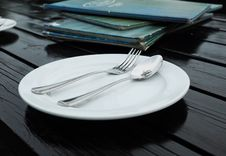 Dinner Plate Stock Photography