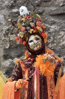 Free Venetian Carnival Mask Stock Photo - 19693660