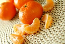 Free Fresh Tangerines Royalty Free Stock Photos - 19694128