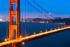 Free Golden Gate Royalty Free Stock Photos - 19694308