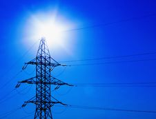 Free Powerlines Stock Images - 19694594
