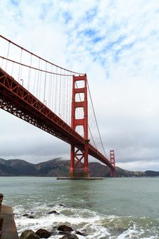 Free Golden Gate Royalty Free Stock Photography - 19694717