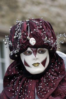 Free Venetian Carnival Mask Stock Photo - 19694730