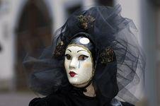 Free Venetian Carnival Mask Stock Photos - 19694833