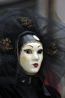 Free Venetian Carnival Mask Stock Photo - 19694860