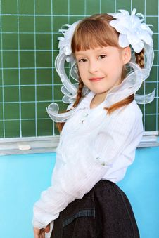 Free Schoolgirl Royalty Free Stock Images - 19695049