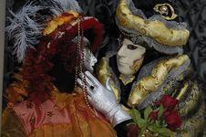 Free Venetian Carnival Mask Stock Photos - 19695093