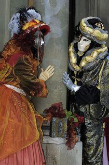 Free Venetian Carnival Mask Stock Photo - 19695170