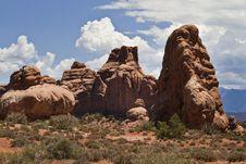 Free Utah S Rugged Landscape Royalty Free Stock Images - 19695499