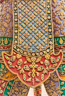 Free Thai Style Pattern Royalty Free Stock Image - 19695586