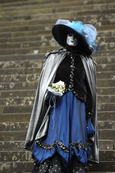 Free Venetian Carnival Mask Royalty Free Stock Photography - 19695587