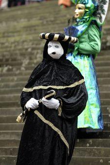 Free Venetian Carnival Mask Royalty Free Stock Photo - 19695615
