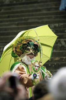 Free Venetian Carnival Mask Stock Image - 19695641