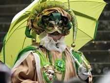 Free Venetian Carnival Mask Royalty Free Stock Photography - 19695657