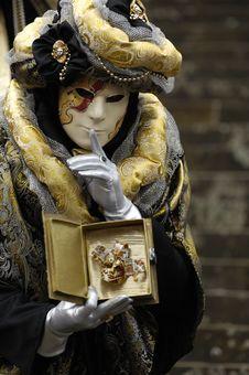 Free Venetian Carnival Mask Stock Images - 19695704