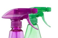 Free Plastic Spray Royalty Free Stock Photography - 19695997