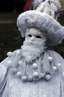 Free Venetian Carnival Mask Stock Photo - 19696020