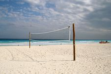 Free Volleyball Net Stock Image - 19697001