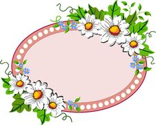 Free Flower Frame Royalty Free Stock Image - 19697046