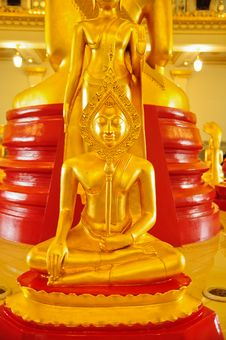 Free Golden Buddha Stock Photo - 19697390