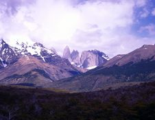 Free Torres Del Paine In Patagonia, Argentina Stock Photography - 19698402
