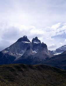 Free Torres Del Paine In Patagonia, Argentina Royalty Free Stock Images - 19698409