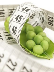 Free Diet Peas Royalty Free Stock Image - 19698716