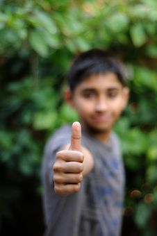 Free Thumbs Up Royalty Free Stock Photography - 19698997