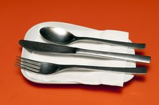 Free Sppo And Fork Stock Photo - 19699010
