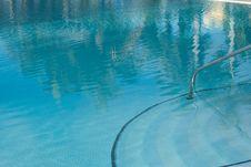 Swimming Pool - Beach Resort Royalty Free Stock Photography