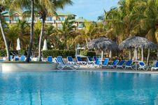 Swimming Pool - Beach Resort Royalty Free Stock Images