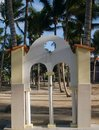 Free Colonial Beach Shower In Cuba Royalty Free Stock Image - 1973846