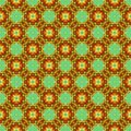 Free Seamless Flower Repeat Pattern Royalty Free Stock Photography - 1977357