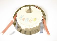 Baby Shower Cake Stock Images