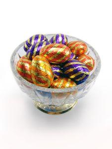 Free Chocolate Eggs I Royalty Free Stock Image - 1971316