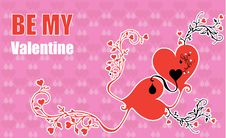 Free Be My Valentine Royalty Free Stock Photo - 1972285