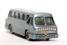 Free Old Toy Car Leyland Royal Tiger Coach Front Royalty Free Stock Photography - 1972847