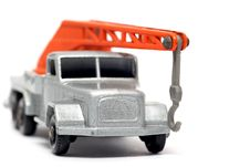 Free Old Toy Car Crane Truck Magirus Deutz Front Stock Image - 1972861