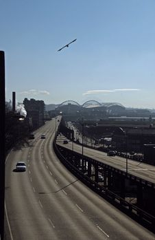Free Alaskan Way Viaduct Stock Photo - 1972980