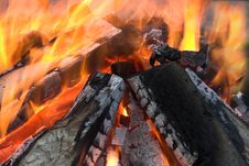 Free Outdoor Fire Royalty Free Stock Photography - 1973127