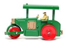 Free Old Toy Car Road Roller Royalty Free Stock Image - 1973346