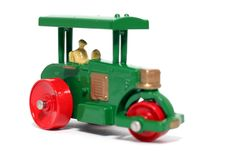 Old Toy Car Road Roller 2 Stock Image